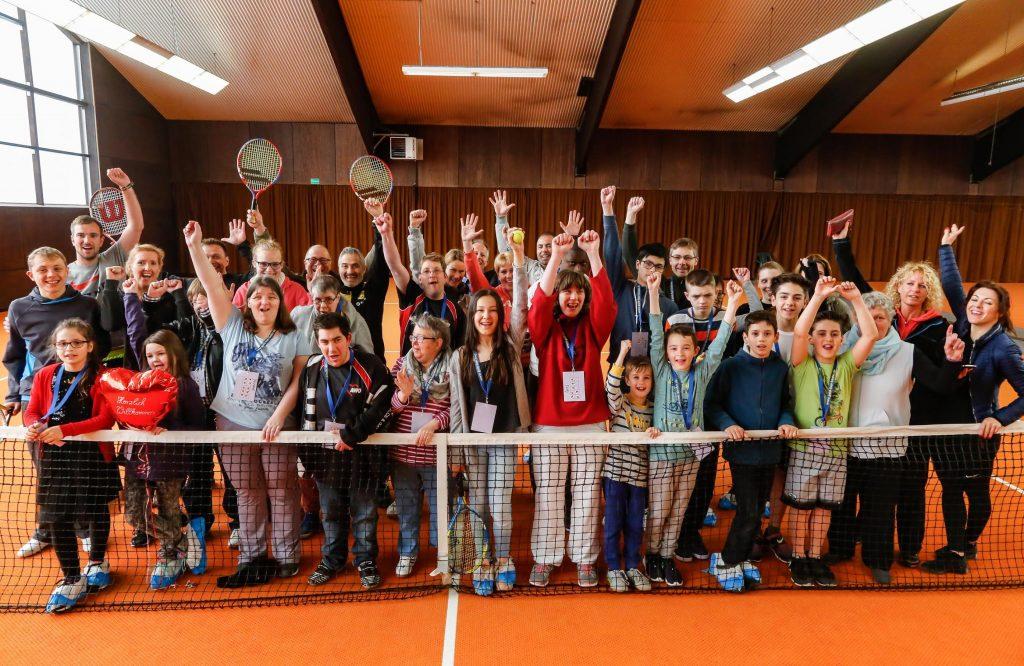 Inklusions-Tennis-Camp beim DTK RW 98